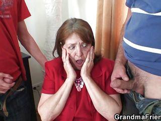 Порно секс бабушки