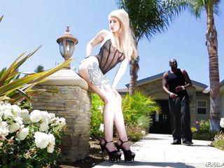 порно блондинки негры огромные члены