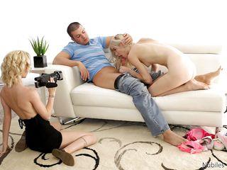 Порно кастинг крупным планом